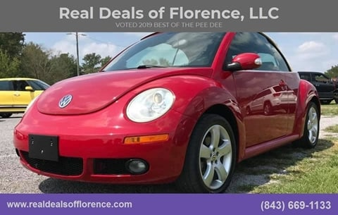 2006 Volkswagen New Beetle for sale at Real Deals of Florence, LLC in Effingham SC