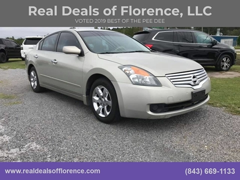 2009 Nissan Altima for sale at Real Deals of Florence, LLC in Effingham SC