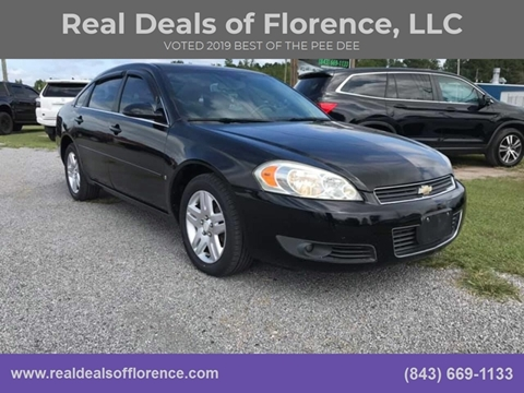 2008 Chevrolet Impala for sale at Real Deals of Florence, LLC in Effingham SC