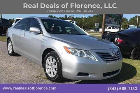 2007 Toyota Camry Hybrid for sale at Real Deals of Florence, LLC in Effingham SC