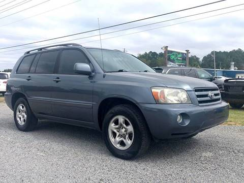 2006 Toyota Highlander for sale at Real Deals of Florence, LLC in Effingham SC
