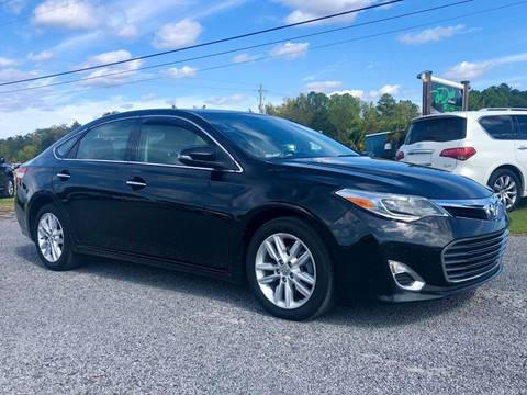 2014 Toyota Avalon for sale at Real Deals of Florence, LLC in Effingham SC