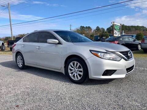 2016 Nissan Altima for sale at Real Deals of Florence, LLC in Effingham SC