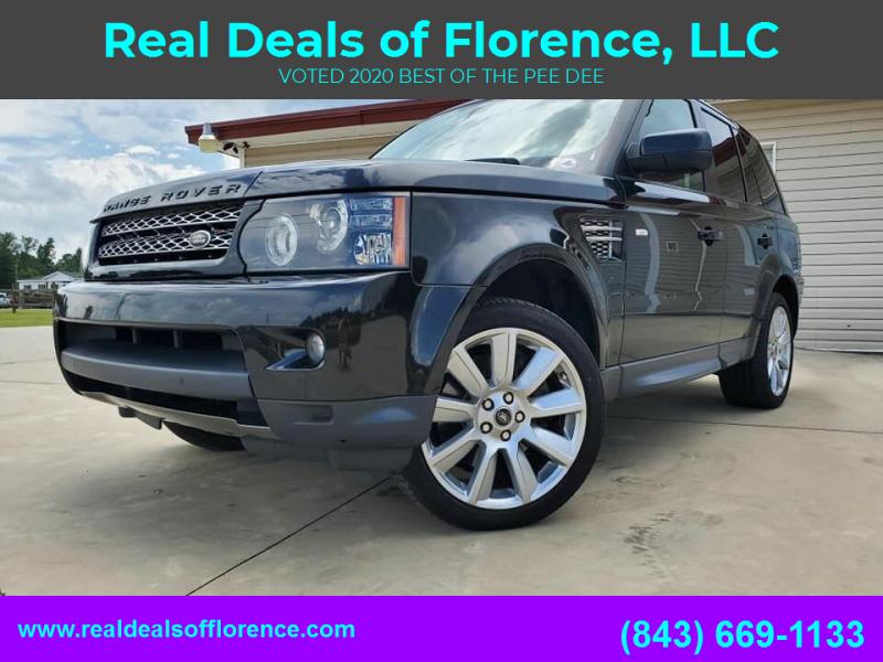 2013 Land Rover Range Rover Sport for sale at Real Deals of Florence, LLC in Effingham SC
