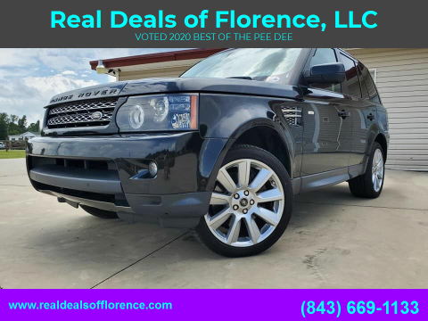 2013 Land Rover Range Rover Sport for sale at Real Deals of Florence, LLC in Effingham SC