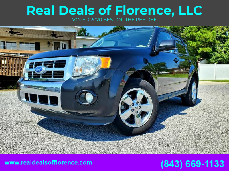2011 Ford Escape for sale at Real Deals of Florence, LLC in Effingham SC