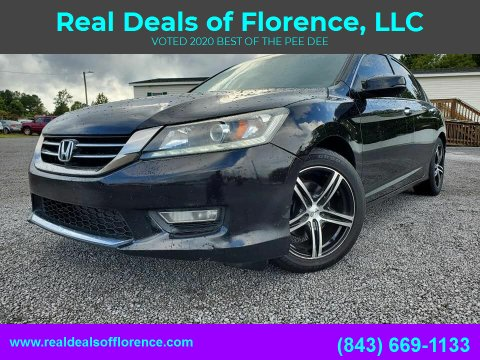 2013 Honda Accord for sale at Real Deals of Florence, LLC in Effingham SC