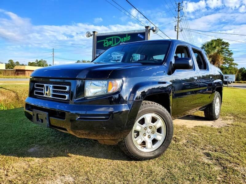 2008 Honda Ridgeline for sale at Real Deals of Florence, LLC in Effingham SC
