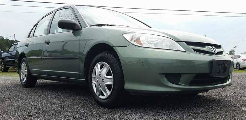 2004 Honda Civic for sale at Real Deals of Florence, LLC in Effingham SC