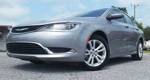 2015 Chrysler 200 for sale at Real Deals of Florence, LLC in Effingham SC