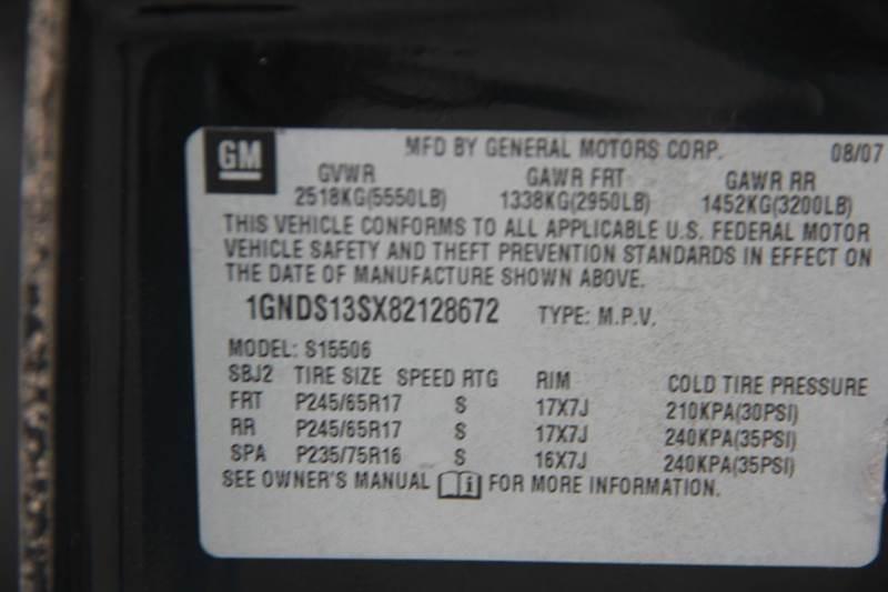 2008 Chevrolet TrailBlazer for sale at Real Deals of Florence, LLC in Effingham SC
