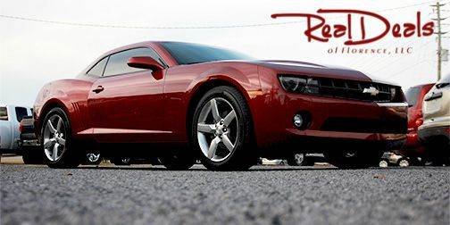 2011 Chevrolet Camaro for sale at Real Deals of Florence, LLC in Effingham SC