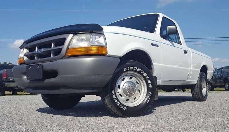 2000 Ford Ranger for sale at Real Deals of Florence, LLC in Effingham SC
