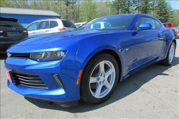 2017 Chevrolet Camaro for sale at AutoMile Motors in Saco ME