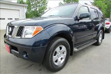 2007 Nissan Pathfinder for sale at AutoMile Motors in Saco ME
