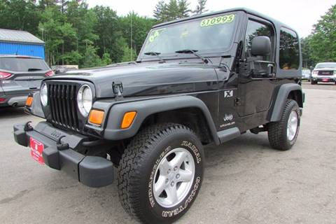 2004 Jeep Wrangler for sale at AutoMile Motors in Saco ME