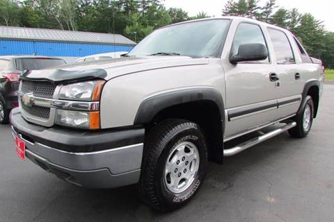 2004 Chevrolet Avalanche for sale at AutoMile Motors in Saco ME