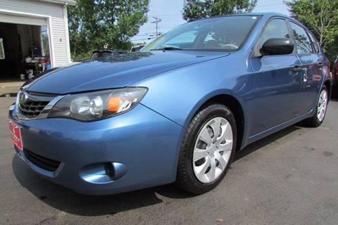 2008 Subaru Impreza for sale at AutoMile Motors in Saco ME