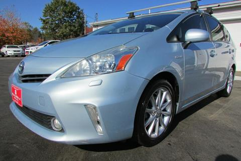 2012 Toyota Prius v for sale at AutoMile Motors in Saco ME