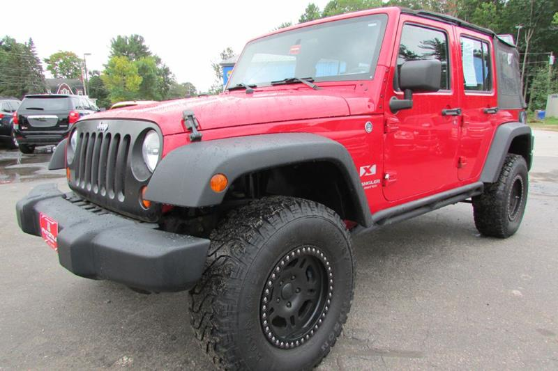2008 Jeep Wrangler Unlimited For Sale At AutoMile Motors In Saco ME