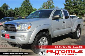 2010 Toyota Tacoma for sale in Saco, ME