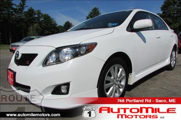 2010 Toyota Corolla for sale in Saco, ME