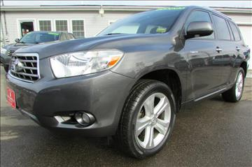 2009 Toyota Highlander for sale at AutoMile Motors in Saco ME