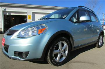 2009 Suzuki SX4 Crossover for sale at AutoMile Motors in Saco ME