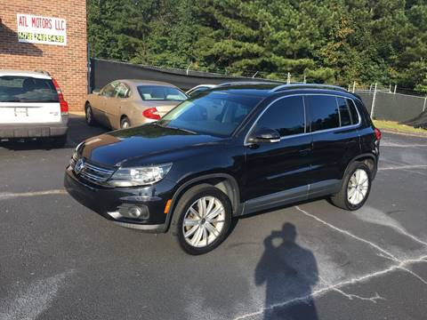 2012 Volkswagen Tiguan for sale in Loganville, GA