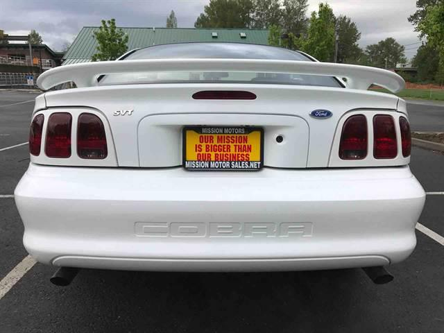 1996 Ford Mustang SVT Cobra 2dr Coupe - Stanwood WA