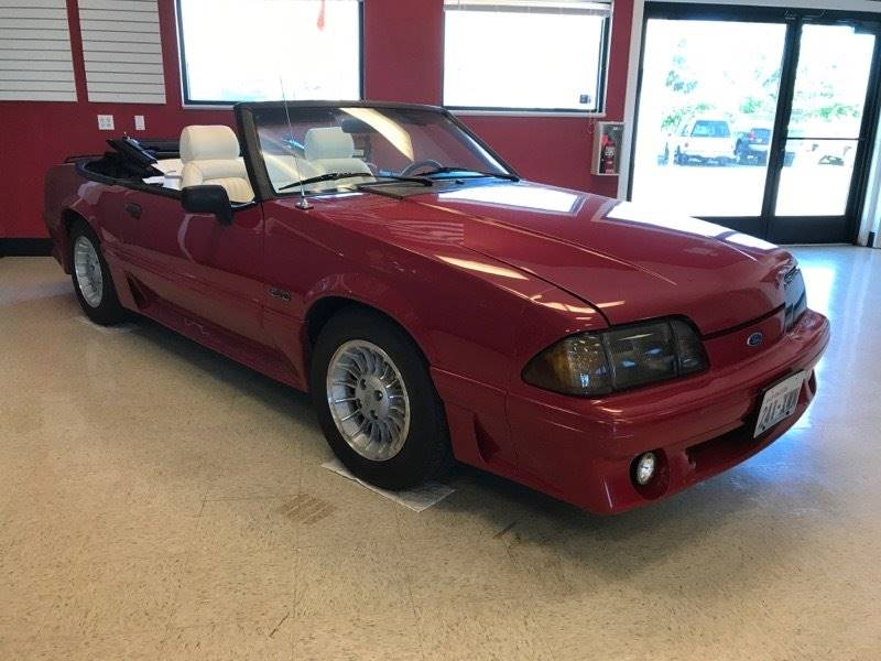 1989 Ford Mustang GT 2dr Convertible - Stanwood WA