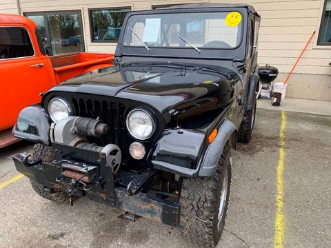 1976 Jeep CJ-5 for sale in Stanwood, WA