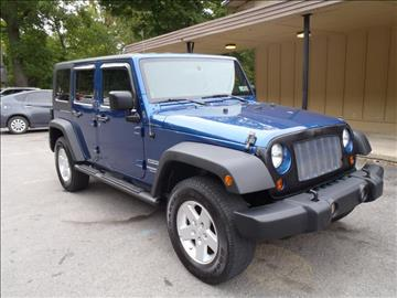 2010 Jeep Wrangler Unlimited for sale in Shavertown, PA