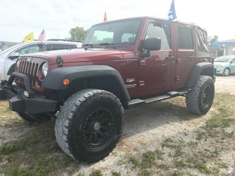 2009 Jeep Wrangler Unlimited for sale in Clearwater, FL