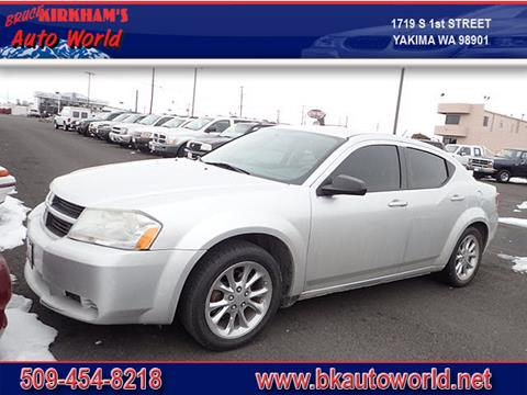 2008 Dodge Avenger for sale at Bruce Kirkham Auto World in Yakima WA