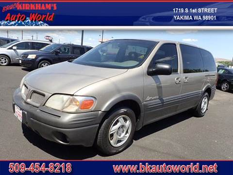 2000 Pontiac Montana for sale in Yakima, WA