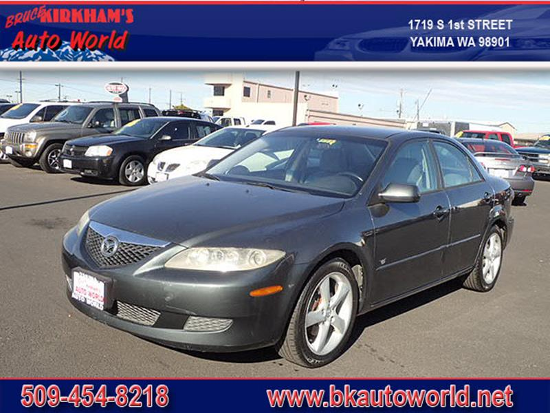2004 Mazda MAZDA6 for sale at Bruce Kirkham Auto World in Yakima WA
