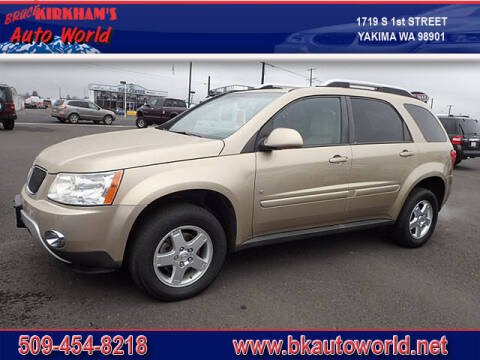 2008 Pontiac Torrent for sale at Bruce Kirkham Auto World in Yakima WA