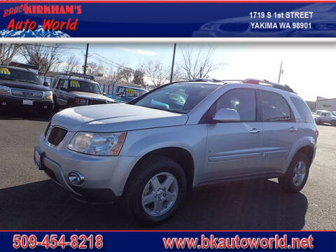2009 Pontiac Torrent for sale at Bruce Kirkham Auto World in Yakima WA