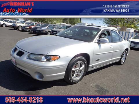 2003 Pontiac Grand Prix for sale at Bruce Kirkham Auto World in Yakima WA
