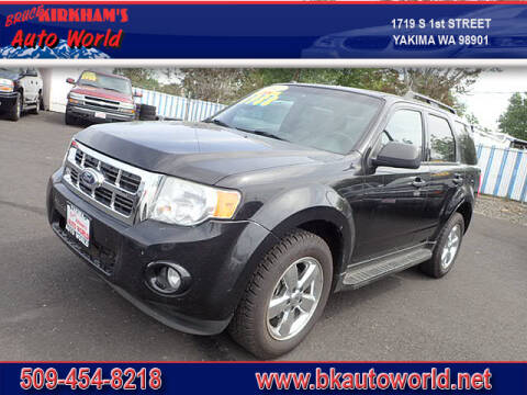 2011 Ford Escape for sale at Bruce Kirkham Auto World in Yakima WA