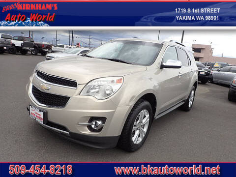 2011 Chevrolet Equinox for sale at Bruce Kirkham Auto World in Yakima WA