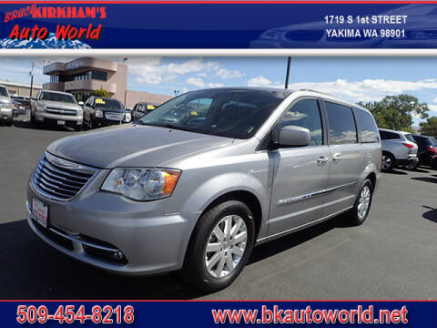 2015 Chrysler Town and Country for sale at Bruce Kirkham Auto World in Yakima WA