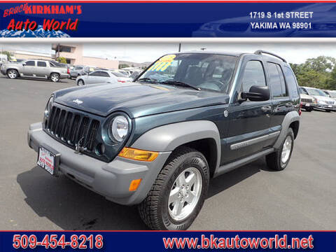 2005 Jeep Liberty for sale at Bruce Kirkham Auto World in Yakima WA