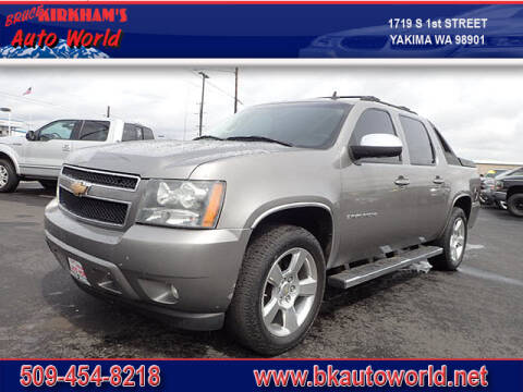 2007 Chevrolet Avalanche for sale at Bruce Kirkham Auto World in Yakima WA