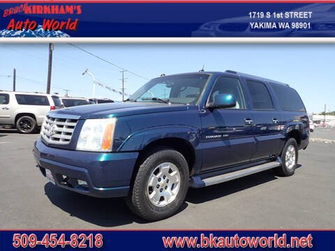 2005 Cadillac Escalade ESV for sale at Bruce Kirkham Auto World in Yakima WA
