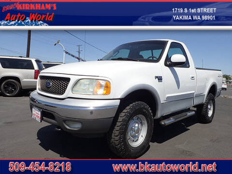 2002 Ford F-150 for sale at Bruce Kirkham Auto World in Yakima WA