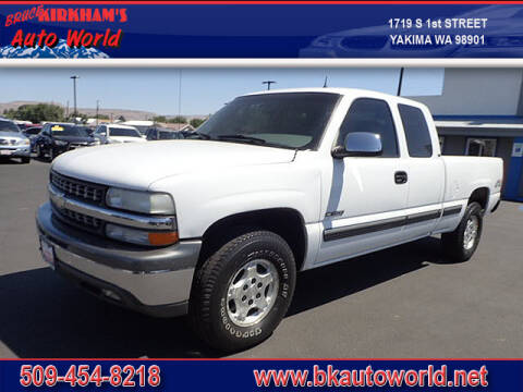 2002 Chevrolet Silverado 1500 for sale at Bruce Kirkham Auto World in Yakima WA