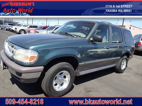 1997 Ford Explorer for sale at Bruce Kirkham Auto World in Yakima WA