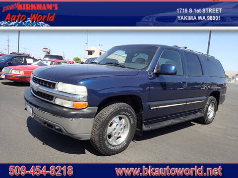 2001 Chevrolet Suburban for sale at Bruce Kirkham Auto World in Yakima WA